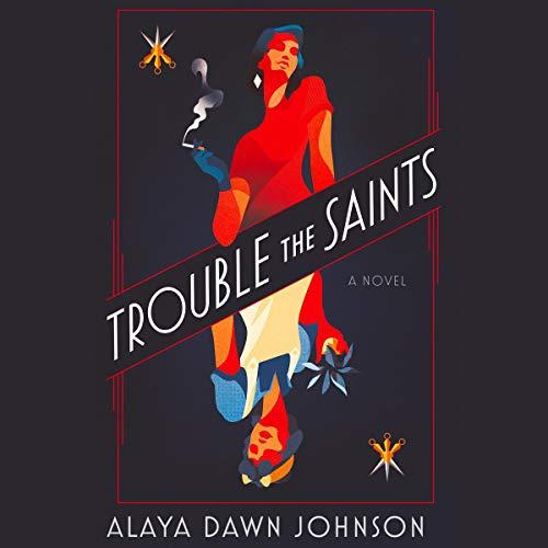 Trouble the Saints audiobook cover art