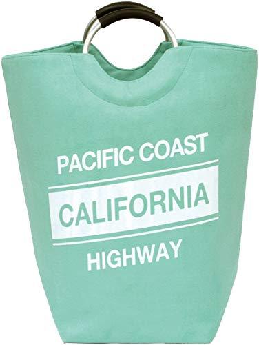 大橋新治商店 ランドリーバッグ カリフォルニア ピンク 40×40×57cm 洗濯物入れ