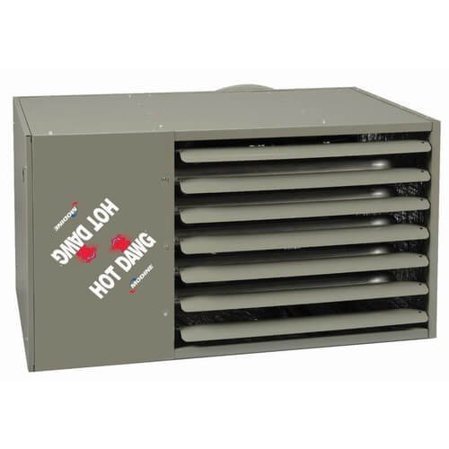 HD75 Hot Dawg Natural Gas Power Vented Heater w/Alumnized Steel Heat Exchanger (75,000 BTU)