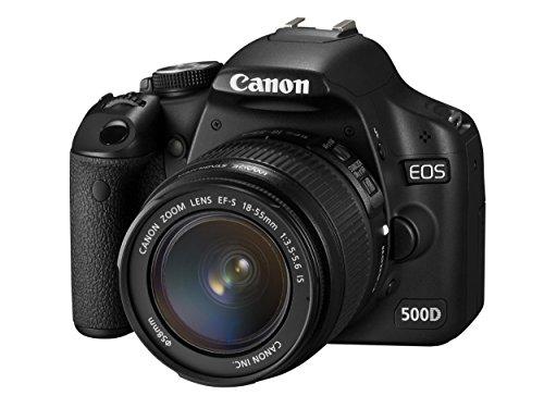 Canon EOS 500D - Cámara Réflex Digital 15.1 MP (Objetivo EF-S 18-55) (Reacondicionado)