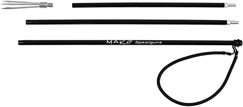 Spearfishing Traveler Pole Spear with 5 Prong Paralyzer Barb Tip