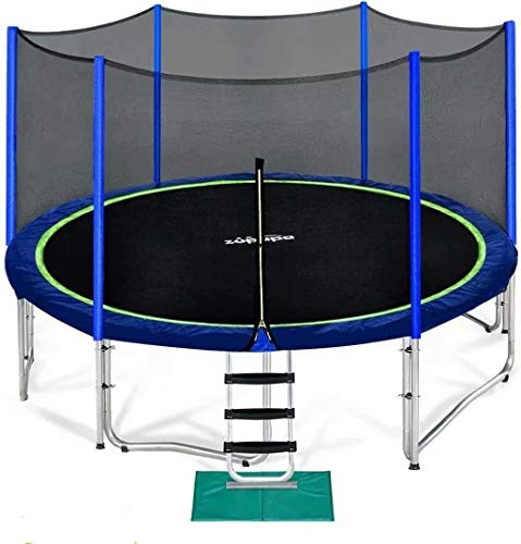Zupapa 15 FT Trampoline for Kids with Safety Enclosure Net 375 LBS Weight Capacity Outdoor...