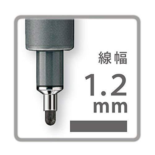 Pigment Liner 1.2mm Black Ink Fine Line Marker box of 10