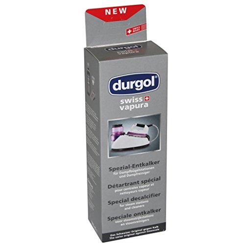Durgol Swiss Vapura Entkalker für Dampfbügelsysteme / Dampfreiniger, 500ml, 4823