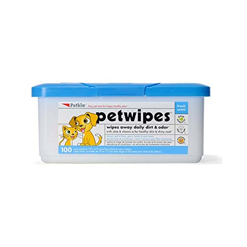 Petkin Petwipes 100 count