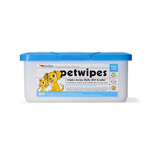 Petkin Pet Wipes Reinigungstücher, 100 Stück
