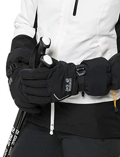 Jack Wolfskin Texapore Big White Glove Handschuhe, Black, M