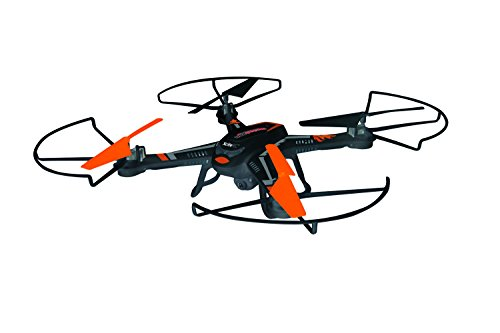 XciteRC 15002220 - RC Quadrocopter - Rocket 260 3D, 4 Kanal RTF Drohne mit 2 MP Kamera, schwarz