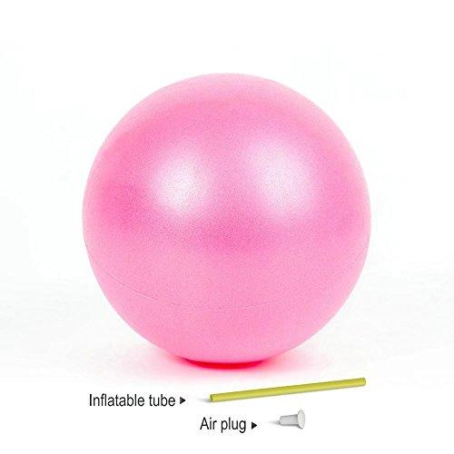 Pelota de pilates bola de la estabilidad de ejercicio para yoga, Barre, terapia física y entrenamiento…