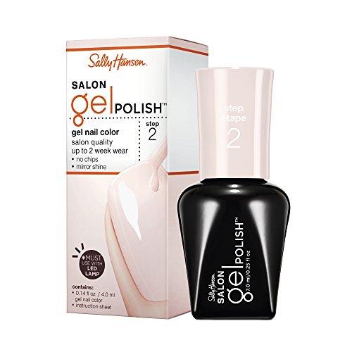 sally hansen gel nail kits Sally Hansen Salon Gel Polish Nail Lacquer, Shell We Dance, 0.14 Fl Oz