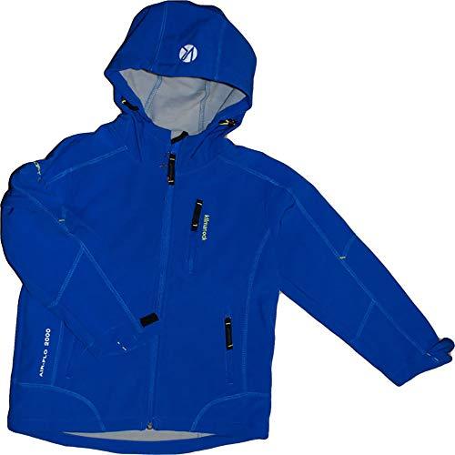 Kilmanock. Softshell Jacke, Lazisas. Air-flo 2000,Fleecefutter. Blau 7311-184 Gr.10-140/146