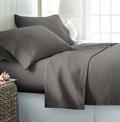 ienjoy Home Hotel Collection Luxury Soft Brushed Bed Sheet Set,...