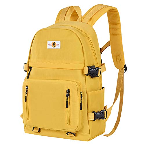 SHADOW DOMAIN Rucksack Mädchen Teenager Jungen Schulrucksack mit USB Laptop Schulranzen Leichtgewicht Schultaschen für Damen Herren