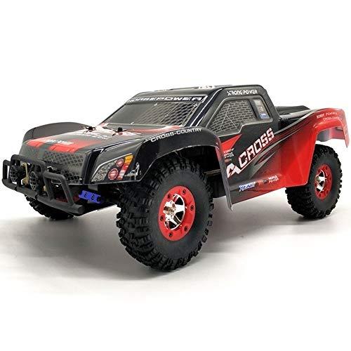 KRCT Coche de Carreras de Control Remoto de Alta Velocidad 4x4 50 km/h Vehículo RC Profesional Todoterreno 2.4G Radio Control Gran Recargable Rally Auto Toy para niños Mayores de 14 años
