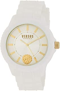 Versus Versace Tokyo R White Silicone Strap Analog Quartz Watch VSPOY0218