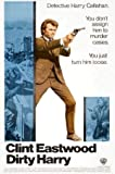 Dirty Harry – Clint Eastwood – Film Poster Plakat