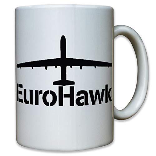 EuroHawk Drohne Luftwaffe Aufklärung Kampf Bundeswehr Bund Bw- Tasse #12342
