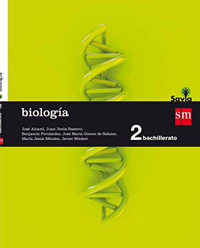Biología. 2 Bachillerato. Savia - 9788467587197 ✅