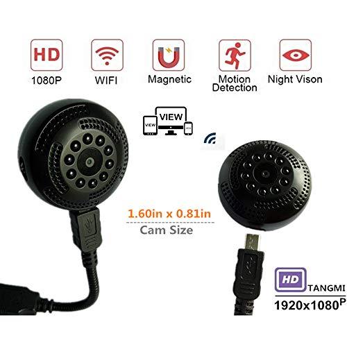 Zoiseo 1080P Action Cam, APP Kurze Reichweite, Bewegungserkennung, Infrarot-Nachtsicht, Loop-Aufnahme, Polymer-Lithium-Batterie