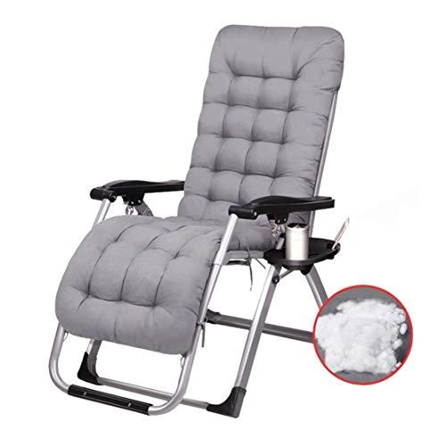 Ligstoelen Ligstoelen voor buiten Tuinstoelen met bekerhouder Patio Lounge Chair voor volwassenen Heavy Duty Opklapbare draagbare verstelbare bureaustoel met voetensteun