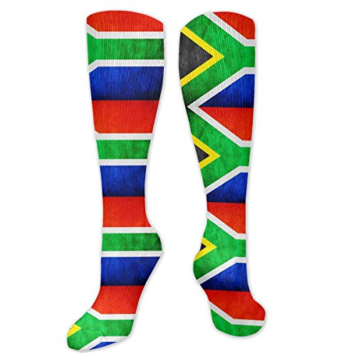 Flag Of South Africa Compression Socks Best For Crossfit Travel Hiking -Running & Fitness