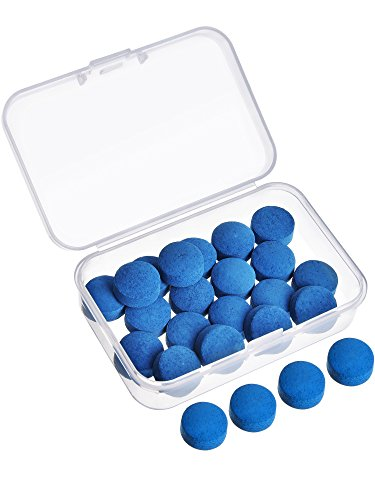Gejoy 20 Pieces Cue Tips 13 mm Pool Billiard Cue Tips Replacement...
