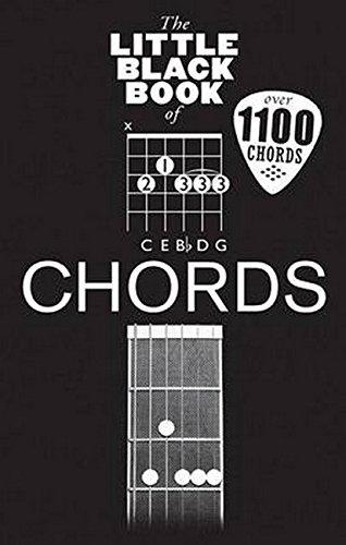 The Little Black Book Of Chords: Noten für Gitarre (Little Black Songbook)
