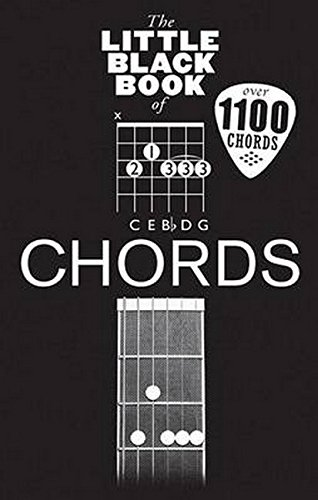 The Little Black Book Of Chords: Noten für Gitarre (Little Black Songbook)