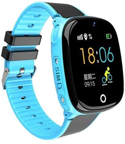 Reloj GPS para niños Watch Phone IP67 impermeable Función de llamada Seguimiento en tiempo real de actividad Smartwatch Regalo para niños niñas - Versión de configuración superior