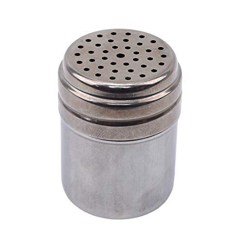 unknow Xinmuye Runde Gewürzbehälter Tragbare Aufbewahrungsbox Gewürzdosen für Kitchen Restaurant Hotel