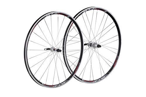 XLC Unisex– Erwachsene Racinglaufradsatz Comp 28 Zoll WS-R03 Racing Laufradsatz, Silber, 1size