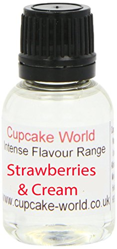 Cupcake World Aromas Alimentarios Intenso Fresas Y Crema Total: 100 ml
