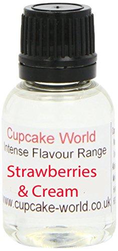 Cupcake World Aromas Alimentarios Intenso Fresas Y Crema Tot