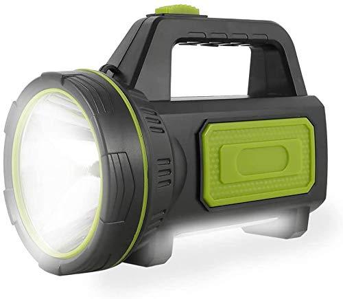 Torcia led ricaricabile USB potente da 135000 lumen 6000mah con luce laterale Torcia impermeabile per escursionismo di emergenza Caccia in campeggio(con luce laterale)