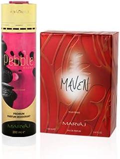 MARYAJ Maven Gift Set For Women (Edp 100 ml + Deo Spray 200 ml)