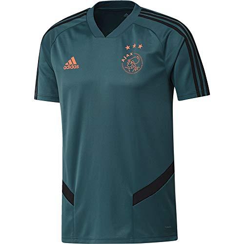 adidas AJAX TR JSY Camiseta, Hombre, vertec/Negro, S