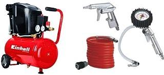 comprar comparacion Einhell Expert TE-AC 230/24 - Compresor + Set de 3 accesorios para compresor de aire comprimido