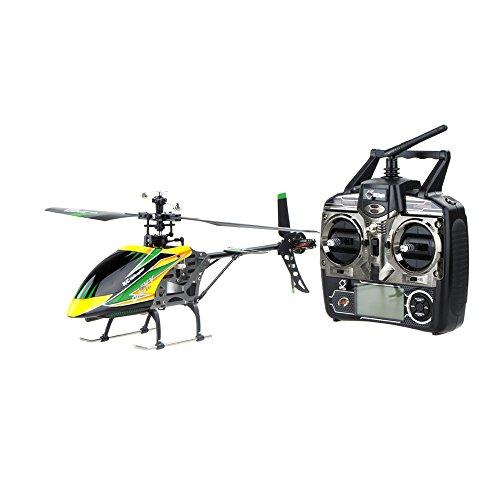 WL V912 Super 2.4 G lame simple 4CH RC hélicoptère RTF V911 grande Version mise à niveau