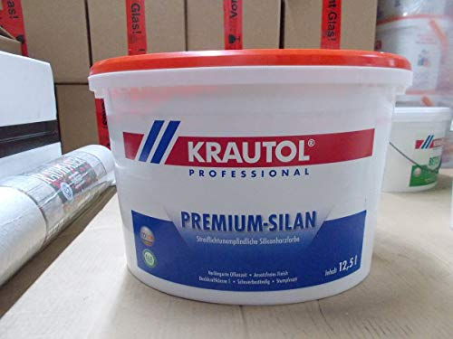 Krautol Professional Premium-Silan, Siliconharzfarbe 12,5 L