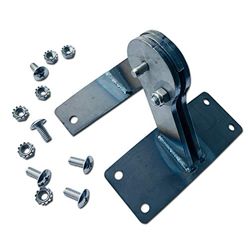"""Unknown Smoker Accessories for Weber Kettle Lid Hinge (Steel) 22 and 26"""" Kettles Including one Touch - Paintable Steel Hinge"""