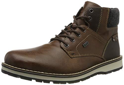 Rieker Herren 38434 Klassische Stiefel, Braun (Toffee/Kastanie/Granit 26), 46 EU