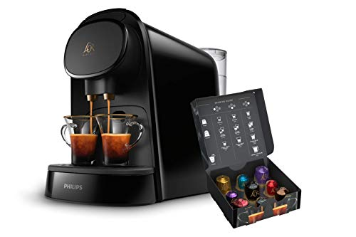 Philips L'OR LM8012/60 Barista - Cafetera compatible con cá