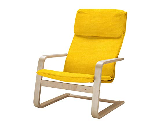 Vinylla Ersatzbezug für Sessel, kompatibel mit IKEA Pello (Polyester, gelb)