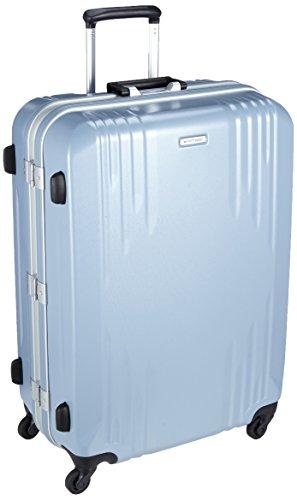 [ワールドトラベラー] スーツケース 日本製 カタノイ サイレントキャスター 84L 68cm 5.9kg 04073 15 スカイブルー