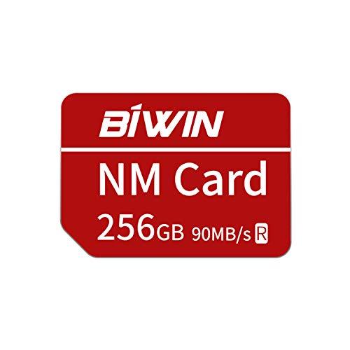 Huawei NanoMemory Memory Card 256GB NM Card NM-Speicherkarte, bis zu 90 MB/s, kompatibel mit Huawei P30 / P30 Pro/Mate X/Mate Xs/Mate 40/Mate 40 Pro