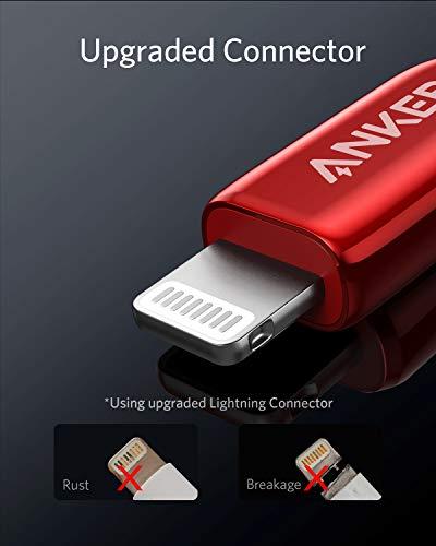 Anker Powerline+ III Lightning Ladekabel 90cm, MFi-Zertifiziert, für iPhone 11/11 Pro / 11 Pro Max/Xs/XS Max/XR/X / 8/8 Plus / 7/7 Plus / 6/6 Plus / 5 / 5S und mehr