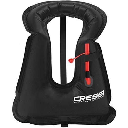 Cressi Snorkel Vest Standard (Black, X-Large)