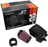 K&N 57S-9500 Kit de Admisión de Rendimiento Coche, Lavable y Reutilizable