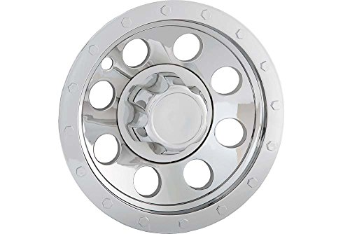 QT865CHN-x4 BA Products Set of 4 Phoenix 1603 for 16 Wheel with Eight 7//8 Lug Nuts on 6.5 Bolt Circle ABS Chrome Trailer Wheel Ring /& HUB Cap