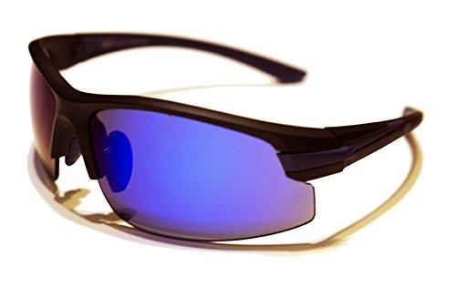 Yuriver OIO-Brille Radfahren, Unisex Erwachsene, Blau, M